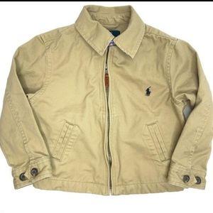 Polo Ralph Lauren Kids Zip-Up Collared Jacket